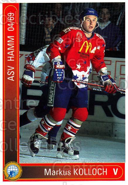 1994-95 German First League #451 Markus Kolloch<br/>5 In Stock - $2.00 each - <a href=https://centericecollectibles.foxycart.com/cart?name=1994-95%20German%20First%20League%20%23451%20Markus%20Kolloch...&quantity_max=5&price=$2.00&code=150390 class=foxycart> Buy it now! </a>