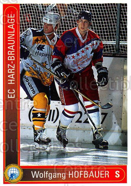 1994-95 German First League #466 Wolfgang Hofbauer<br/>12 In Stock - $2.00 each - <a href=https://centericecollectibles.foxycart.com/cart?name=1994-95%20German%20First%20League%20%23466%20Wolfgang%20Hofbau...&quantity_max=12&price=$2.00&code=150406 class=foxycart> Buy it now! </a>