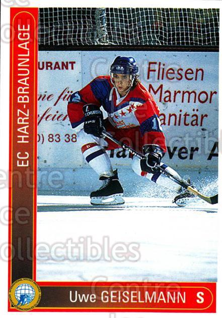 1994-95 German First League #467 Uwe Geiselmann<br/>13 In Stock - $2.00 each - <a href=https://centericecollectibles.foxycart.com/cart?name=1994-95%20German%20First%20League%20%23467%20Uwe%20Geiselmann...&quantity_max=13&price=$2.00&code=150407 class=foxycart> Buy it now! </a>