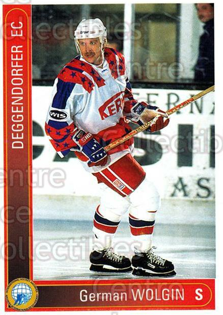 1994-95 German First League #47 German Wolgin<br/>6 In Stock - $2.00 each - <a href=https://centericecollectibles.foxycart.com/cart?name=1994-95%20German%20First%20League%20%2347%20German%20Wolgin...&price=$2.00&code=150410 class=foxycart> Buy it now! </a>