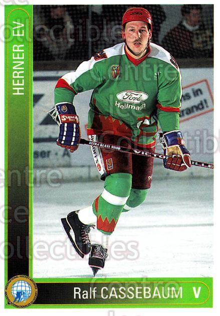 1994-95 German First League #484 Ralf Cassebaum<br/>12 In Stock - $2.00 each - <a href=https://centericecollectibles.foxycart.com/cart?name=1994-95%20German%20First%20League%20%23484%20Ralf%20Cassebaum...&quantity_max=12&price=$2.00&code=150425 class=foxycart> Buy it now! </a>