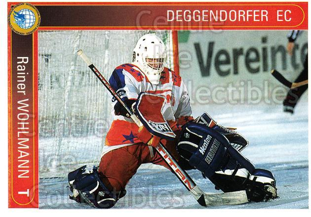 1994-95 German First League #49 Rainer Wohlmann<br/>11 In Stock - $2.00 each - <a href=https://centericecollectibles.foxycart.com/cart?name=1994-95%20German%20First%20League%20%2349%20Rainer%20Wohlmann...&quantity_max=11&price=$2.00&code=150431 class=foxycart> Buy it now! </a>