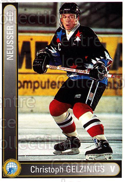 1994-95 German First League #502 Christoph Gelzinus<br/>7 In Stock - $2.00 each - <a href=https://centericecollectibles.foxycart.com/cart?name=1994-95%20German%20First%20League%20%23502%20Christoph%20Gelzi...&quantity_max=7&price=$2.00&code=150446 class=foxycart> Buy it now! </a>