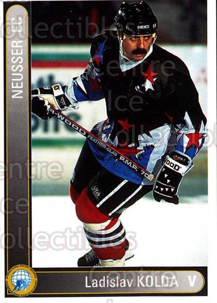 1994-95 German First League #506 Ladislav Kolda<br/>10 In Stock - $2.00 each - <a href=https://centericecollectibles.foxycart.com/cart?name=1994-95%20German%20First%20League%20%23506%20Ladislav%20Kolda...&quantity_max=10&price=$2.00&code=150450 class=foxycart> Buy it now! </a>
