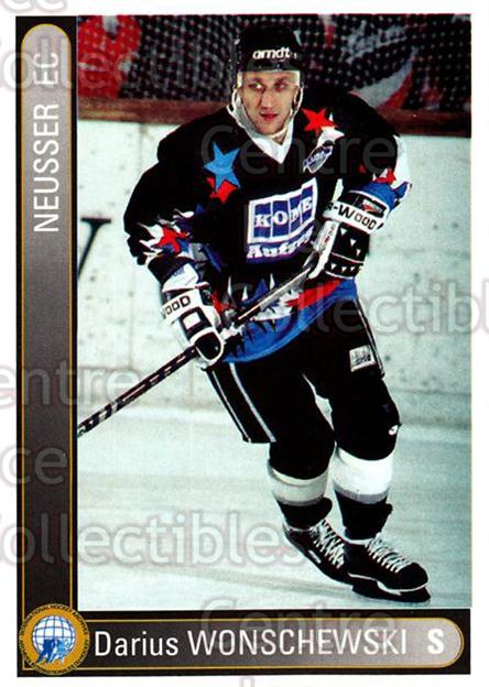 1994-95 German First League #509 Darius Wonschweski<br/>9 In Stock - $2.00 each - <a href=https://centericecollectibles.foxycart.com/cart?name=1994-95%20German%20First%20League%20%23509%20Darius%20Wonschwe...&quantity_max=9&price=$2.00&code=150453 class=foxycart> Buy it now! </a>