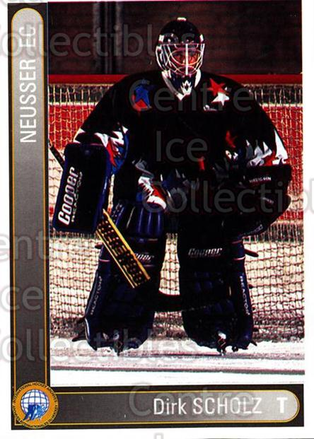1994-95 German First League #512 Dirk Scholz<br/>5 In Stock - $2.00 each - <a href=https://centericecollectibles.foxycart.com/cart?name=1994-95%20German%20First%20League%20%23512%20Dirk%20Scholz...&quantity_max=5&price=$2.00&code=150457 class=foxycart> Buy it now! </a>