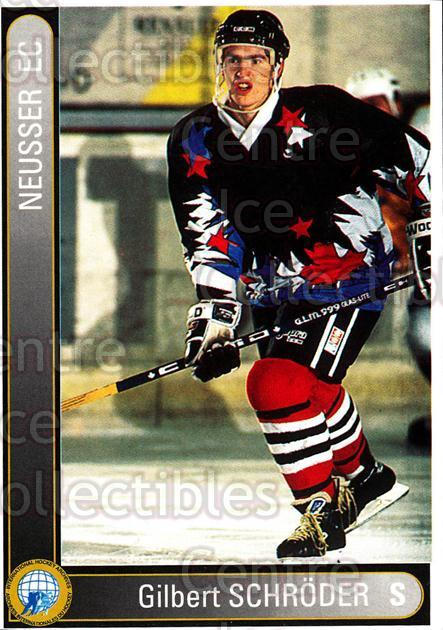 1994-95 German First League #516 Gilbert Schroder<br/>6 In Stock - $2.00 each - <a href=https://centericecollectibles.foxycart.com/cart?name=1994-95%20German%20First%20League%20%23516%20Gilbert%20Schrode...&quantity_max=6&price=$2.00&code=150461 class=foxycart> Buy it now! </a>