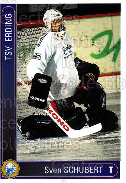 1994-95 German First League #52 Sven Schubert<br/>12 In Stock - $2.00 each - <a href=https://centericecollectibles.foxycart.com/cart?name=1994-95%20German%20First%20League%20%2352%20Sven%20Schubert...&quantity_max=12&price=$2.00&code=150465 class=foxycart> Buy it now! </a>