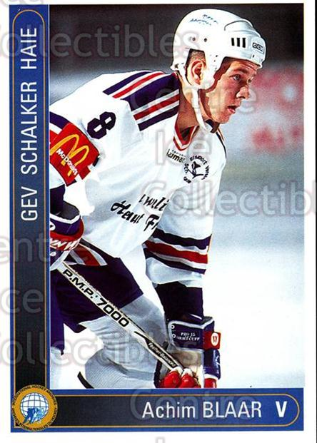 1994-95 German First League #543 Achim Blaar<br/>15 In Stock - $2.00 each - <a href=https://centericecollectibles.foxycart.com/cart?name=1994-95%20German%20First%20League%20%23543%20Achim%20Blaar...&quantity_max=15&price=$2.00&code=150491 class=foxycart> Buy it now! </a>