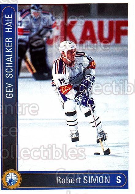 1994-95 German First League #545 Robert Simon<br/>11 In Stock - $2.00 each - <a href=https://centericecollectibles.foxycart.com/cart?name=1994-95%20German%20First%20League%20%23545%20Robert%20Simon...&quantity_max=11&price=$2.00&code=150493 class=foxycart> Buy it now! </a>