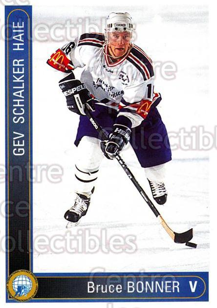 1994-95 German First League #546 Bruce Bonner<br/>9 In Stock - $2.00 each - <a href=https://centericecollectibles.foxycart.com/cart?name=1994-95%20German%20First%20League%20%23546%20Bruce%20Bonner...&quantity_max=9&price=$2.00&code=150494 class=foxycart> Buy it now! </a>