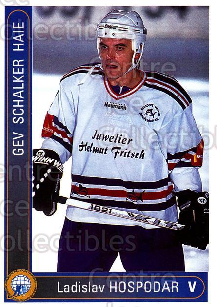 1994-95 German First League #547 Ladislav Hospodar<br/>7 In Stock - $2.00 each - <a href=https://centericecollectibles.foxycart.com/cart?name=1994-95%20German%20First%20League%20%23547%20Ladislav%20Hospod...&quantity_max=7&price=$2.00&code=150495 class=foxycart> Buy it now! </a>