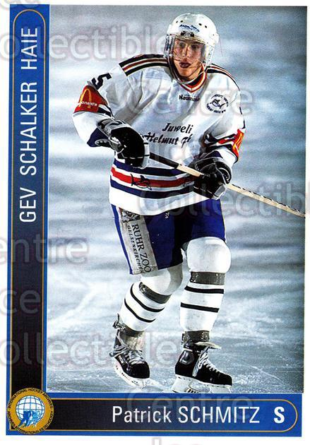 1994-95 German First League #552 Patrick Schmitz<br/>11 In Stock - $2.00 each - <a href=https://centericecollectibles.foxycart.com/cart?name=1994-95%20German%20First%20League%20%23552%20Patrick%20Schmitz...&quantity_max=11&price=$2.00&code=150500 class=foxycart> Buy it now! </a>