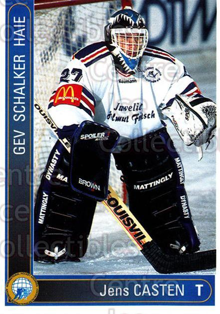 1994-95 German First League #554 Jens Casten<br/>13 In Stock - $2.00 each - <a href=https://centericecollectibles.foxycart.com/cart?name=1994-95%20German%20First%20League%20%23554%20Jens%20Casten...&quantity_max=13&price=$2.00&code=150502 class=foxycart> Buy it now! </a>