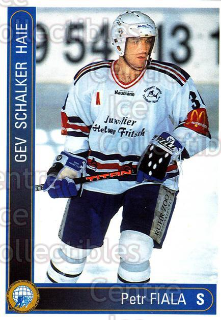 1994-95 German First League #557 Petr Fiala<br/>9 In Stock - $2.00 each - <a href=https://centericecollectibles.foxycart.com/cart?name=1994-95%20German%20First%20League%20%23557%20Petr%20Fiala...&quantity_max=9&price=$2.00&code=150504 class=foxycart> Buy it now! </a>