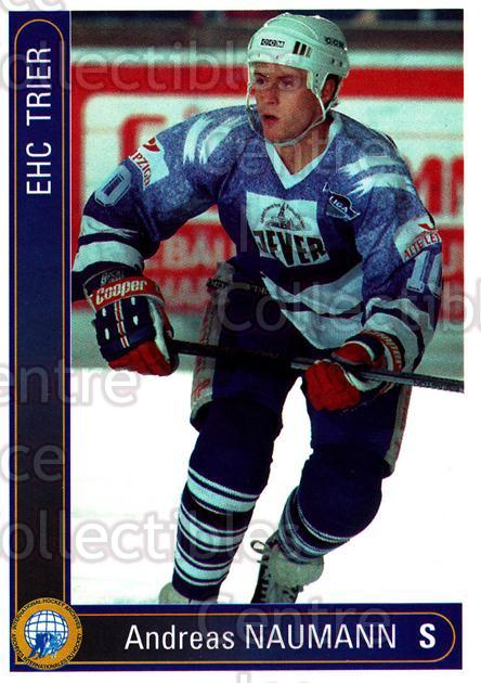 1994-95 German First League #589 Andreas Naumann<br/>7 In Stock - $2.00 each - <a href=https://centericecollectibles.foxycart.com/cart?name=1994-95%20German%20First%20League%20%23589%20Andreas%20Naumann...&quantity_max=7&price=$2.00&code=150536 class=foxycart> Buy it now! </a>