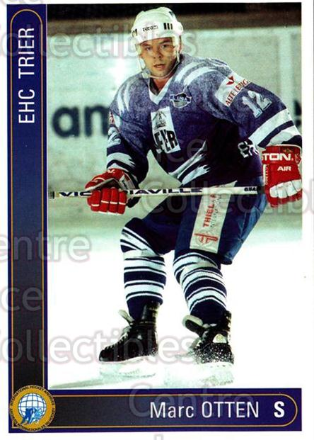 1994-95 German First League #590 Marc Otten<br/>10 In Stock - $2.00 each - <a href=https://centericecollectibles.foxycart.com/cart?name=1994-95%20German%20First%20League%20%23590%20Marc%20Otten...&quantity_max=10&price=$2.00&code=150538 class=foxycart> Buy it now! </a>