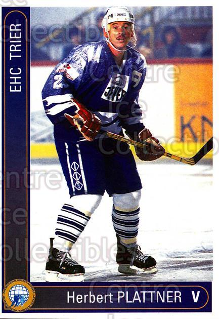 1994-95 German First League #595 Herbert Plattner<br/>9 In Stock - $2.00 each - <a href=https://centericecollectibles.foxycart.com/cart?name=1994-95%20German%20First%20League%20%23595%20Herbert%20Plattne...&quantity_max=9&price=$2.00&code=150543 class=foxycart> Buy it now! </a>