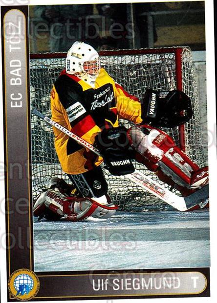 1994-95 German First League #6 Ulf Siegmund<br/>15 In Stock - $2.00 each - <a href=https://centericecollectibles.foxycart.com/cart?name=1994-95%20German%20First%20League%20%236%20Ulf%20Siegmund...&quantity_max=15&price=$2.00&code=150548 class=foxycart> Buy it now! </a>
