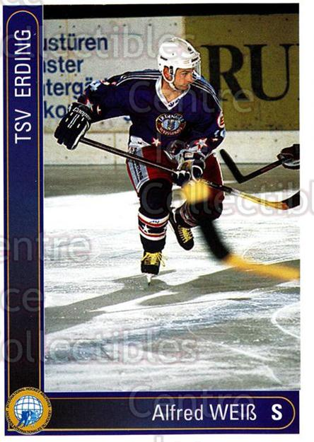 1994-95 German First League #62 Alfred Weiss<br/>5 In Stock - $2.00 each - <a href=https://centericecollectibles.foxycart.com/cart?name=1994-95%20German%20First%20League%20%2362%20Alfred%20Weiss...&quantity_max=5&price=$2.00&code=150571 class=foxycart> Buy it now! </a>