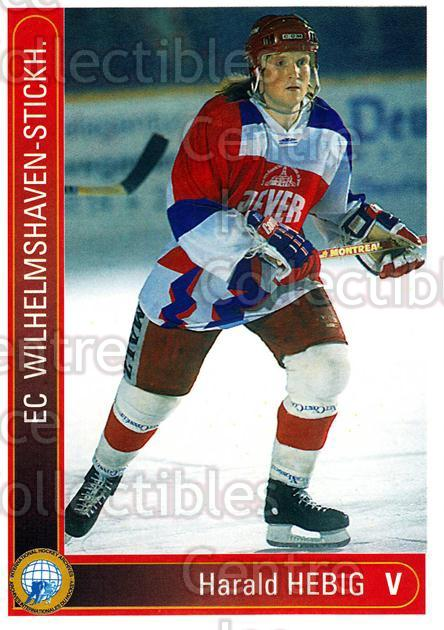 1994-95 German First League #629 Harald Hebig<br/>12 In Stock - $2.00 each - <a href=https://centericecollectibles.foxycart.com/cart?name=1994-95%20German%20First%20League%20%23629%20Harald%20Hebig...&quantity_max=12&price=$2.00&code=150580 class=foxycart> Buy it now! </a>