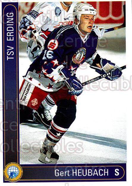 1994-95 German First League #63 Gert Heubach<br/>10 In Stock - $2.00 each - <a href=https://centericecollectibles.foxycart.com/cart?name=1994-95%20German%20First%20League%20%2363%20Gert%20Heubach...&quantity_max=10&price=$2.00&code=150581 class=foxycart> Buy it now! </a>