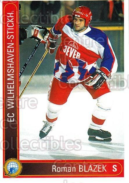 1994-95 German First League #639 Roman Blazek<br/>6 In Stock - $2.00 each - <a href=https://centericecollectibles.foxycart.com/cart?name=1994-95%20German%20First%20League%20%23639%20Roman%20Blazek...&quantity_max=6&price=$2.00&code=150591 class=foxycart> Buy it now! </a>