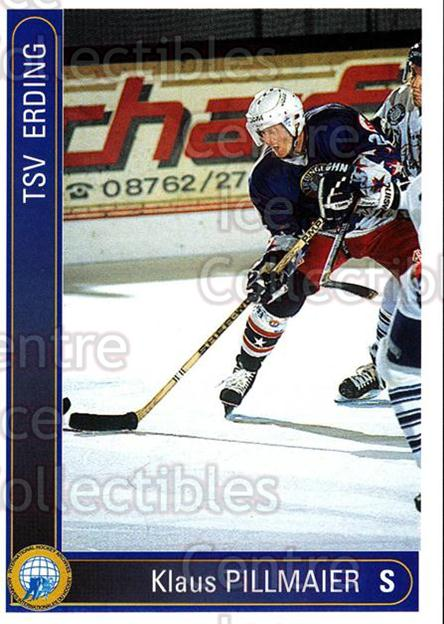 1994-95 German First League #67 Klaus Pillmaier<br/>12 In Stock - $2.00 each - <a href=https://centericecollectibles.foxycart.com/cart?name=1994-95%20German%20First%20League%20%2367%20Klaus%20Pillmaier...&quantity_max=12&price=$2.00&code=150620 class=foxycart> Buy it now! </a>