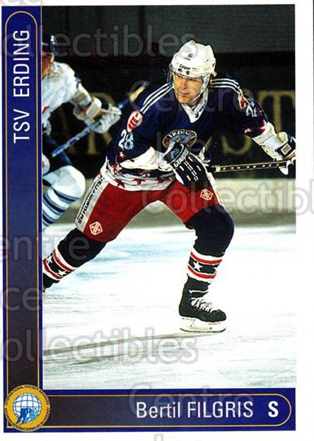 1994-95 German First League #69 Bertil Filgis<br/>8 In Stock - $2.00 each - <a href=https://centericecollectibles.foxycart.com/cart?name=1994-95%20German%20First%20League%20%2369%20Bertil%20Filgis...&quantity_max=8&price=$2.00&code=150622 class=foxycart> Buy it now! </a>