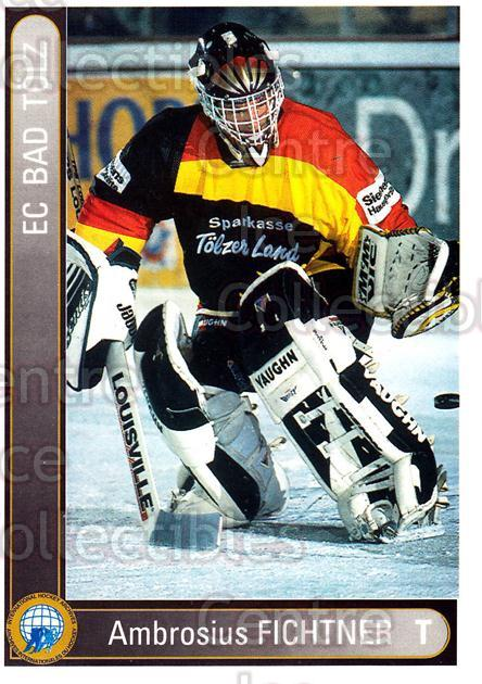 1994-95 German First League #7 Ambrosius Fichtner<br/>10 In Stock - $2.00 each - <a href=https://centericecollectibles.foxycart.com/cart?name=1994-95%20German%20First%20League%20%237%20Ambrosius%20Ficht...&quantity_max=10&price=$2.00&code=150623 class=foxycart> Buy it now! </a>