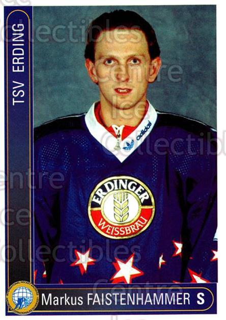 1994-95 German First League #72 Markus Faistenhammer<br/>9 In Stock - $2.00 each - <a href=https://centericecollectibles.foxycart.com/cart?name=1994-95%20German%20First%20League%20%2372%20Markus%20Faistenh...&quantity_max=9&price=$2.00&code=150626 class=foxycart> Buy it now! </a>