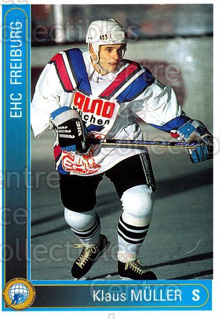 1994-95 German First League #76 Klaus Muller<br/>12 In Stock - $2.00 each - <a href=https://centericecollectibles.foxycart.com/cart?name=1994-95%20German%20First%20League%20%2376%20Klaus%20Muller...&quantity_max=12&price=$2.00&code=150630 class=foxycart> Buy it now! </a>