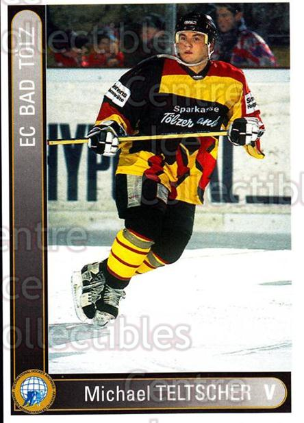 1994-95 German First League #8 Michael Teltscher<br/>15 In Stock - $2.00 each - <a href=https://centericecollectibles.foxycart.com/cart?name=1994-95%20German%20First%20League%20%238%20Michael%20Teltsch...&quantity_max=15&price=$2.00&code=150634 class=foxycart> Buy it now! </a>