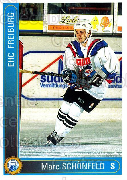 1994-95 German First League #83 Marc Schonfeld<br/>17 In Stock - $2.00 each - <a href=https://centericecollectibles.foxycart.com/cart?name=1994-95%20German%20First%20League%20%2383%20Marc%20Schonfeld...&quantity_max=17&price=$2.00&code=150638 class=foxycart> Buy it now! </a>