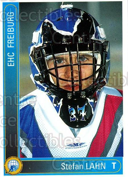 1994-95 German First League #87 Stefan Lahn<br/>7 In Stock - $2.00 each - <a href=https://centericecollectibles.foxycart.com/cart?name=1994-95%20German%20First%20League%20%2387%20Stefan%20Lahn...&quantity_max=7&price=$2.00&code=150642 class=foxycart> Buy it now! </a>