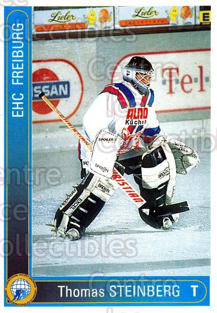 1994-95 German First League #88 Thomas Steinberg<br/>12 In Stock - $2.00 each - <a href=https://centericecollectibles.foxycart.com/cart?name=1994-95%20German%20First%20League%20%2388%20Thomas%20Steinber...&quantity_max=12&price=$2.00&code=150643 class=foxycart> Buy it now! </a>