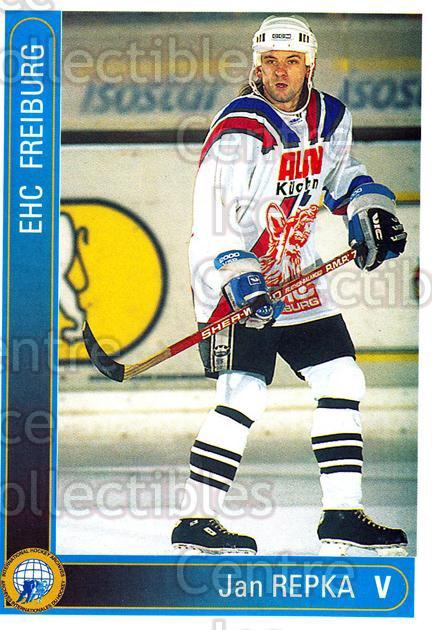 1994-95 German First League #89 Jan Repka<br/>8 In Stock - $2.00 each - <a href=https://centericecollectibles.foxycart.com/cart?name=1994-95%20German%20First%20League%20%2389%20Jan%20Repka...&quantity_max=8&price=$2.00&code=150644 class=foxycart> Buy it now! </a>