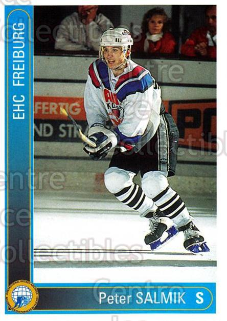 1994-95 German First League #92 Peter Salmik<br/>11 In Stock - $2.00 each - <a href=https://centericecollectibles.foxycart.com/cart?name=1994-95%20German%20First%20League%20%2392%20Peter%20Salmik...&quantity_max=11&price=$2.00&code=150648 class=foxycart> Buy it now! </a>