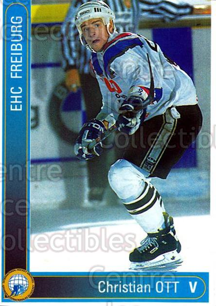 1994-95 German First League #95 Christian Ott<br/>12 In Stock - $2.00 each - <a href=https://centericecollectibles.foxycart.com/cart?name=1994-95%20German%20First%20League%20%2395%20Christian%20Ott...&quantity_max=12&price=$2.00&code=150651 class=foxycart> Buy it now! </a>