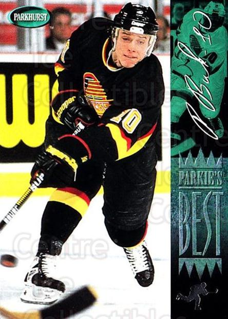 1994-95 Parkhurst #297 Pavel Bure<br/>2 In Stock - $1.00 each - <a href=https://centericecollectibles.foxycart.com/cart?name=1994-95%20Parkhurst%20%23297%20Pavel%20Bure...&quantity_max=2&price=$1.00&code=150963 class=foxycart> Buy it now! </a>