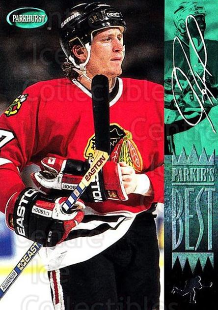 1994-95 Parkhurst #302 Jeremy Roenick<br/>4 In Stock - $1.00 each - <a href=https://centericecollectibles.foxycart.com/cart?name=1994-95%20Parkhurst%20%23302%20Jeremy%20Roenick...&quantity_max=4&price=$1.00&code=150970 class=foxycart> Buy it now! </a>