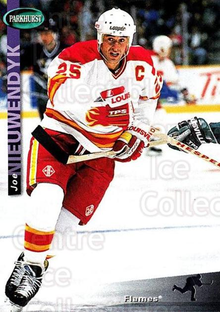 1994-95 Parkhurst #33 Joe Nieuwendyk<br/>3 In Stock - $1.00 each - <a href=https://centericecollectibles.foxycart.com/cart?name=1994-95%20Parkhurst%20%2333%20Joe%20Nieuwendyk...&quantity_max=3&price=$1.00&code=150983 class=foxycart> Buy it now! </a>