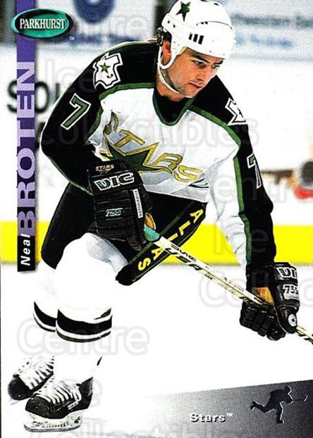 1994-95 Parkhurst #53 Neal Broten<br/>2 In Stock - $1.00 each - <a href=https://centericecollectibles.foxycart.com/cart?name=1994-95%20Parkhurst%20%2353%20Neal%20Broten...&quantity_max=2&price=$1.00&code=151004 class=foxycart> Buy it now! </a>