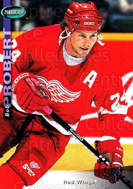 1994-95 Parkhurst #71 Bob Probert<br/>1 In Stock - $1.00 each - <a href=https://centericecollectibles.foxycart.com/cart?name=1994-95%20Parkhurst%20%2371%20Bob%20Probert...&quantity_max=1&price=$1.00&code=151024 class=foxycart> Buy it now! </a>