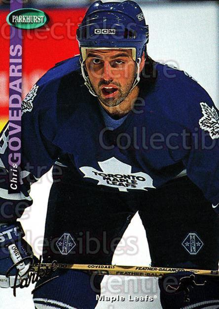 1994-95 Parkhurst Gold #236 Chris Govedaris<br/>3 In Stock - $2.00 each - <a href=https://centericecollectibles.foxycart.com/cart?name=1994-95%20Parkhurst%20Gold%20%23236%20Chris%20Govedaris...&quantity_max=3&price=$2.00&code=151060 class=foxycart> Buy it now! </a>