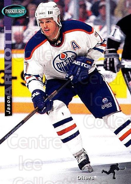 1994-95 Parkhurst SE #59 Jason Arnott<br/>2 In Stock - $1.00 each - <a href=https://centericecollectibles.foxycart.com/cart?name=1994-95%20Parkhurst%20SE%20%2359%20Jason%20Arnott...&quantity_max=2&price=$1.00&code=151237 class=foxycart> Buy it now! </a>