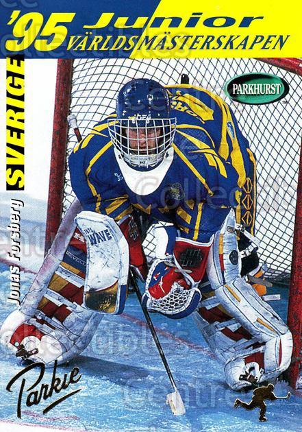 1994-95 Parkhurst SE Gold #245 Jonas Forsberg<br/>1 In Stock - $2.00 each - <a href=https://centericecollectibles.foxycart.com/cart?name=1994-95%20Parkhurst%20SE%20Gold%20%23245%20Jonas%20Forsberg...&quantity_max=1&price=$2.00&code=151282 class=foxycart> Buy it now! </a>