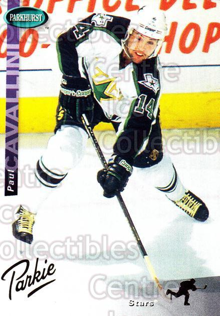 1994-95 Parkhurst SE Gold #42 Paul Cavallini<br/>5 In Stock - $2.00 each - <a href=https://centericecollectibles.foxycart.com/cart?name=1994-95%20Parkhurst%20SE%20Gold%20%2342%20Paul%20Cavallini...&quantity_max=5&price=$2.00&code=151325 class=foxycart> Buy it now! </a>
