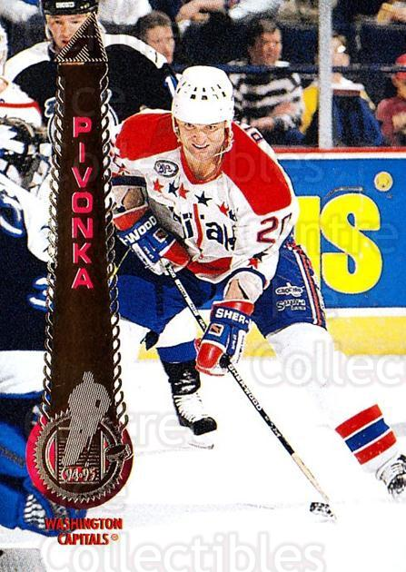 1994-95 Pinnacle #323 Michal Pivonka<br/>4 In Stock - $1.00 each - <a href=https://centericecollectibles.foxycart.com/cart?name=1994-95%20Pinnacle%20%23323%20Michal%20Pivonka...&quantity_max=4&price=$1.00&code=151474 class=foxycart> Buy it now! </a>