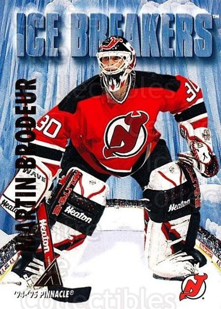 1994-95 Pinnacle #462 Martin Brodeur<br/>4 In Stock - $2.00 each - <a href=https://centericecollectibles.foxycart.com/cart?name=1994-95%20Pinnacle%20%23462%20Martin%20Brodeur...&price=$2.00&code=151622 class=foxycart> Buy it now! </a>
